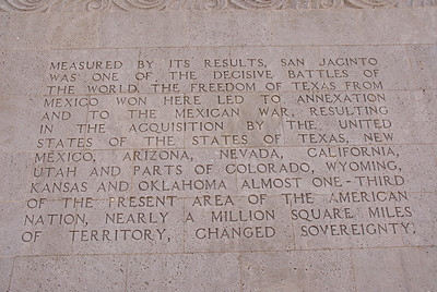 8) Results of the Battle of San Jacinto