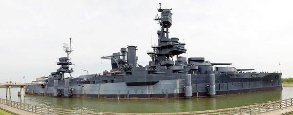 Battleship Texas in Panovision