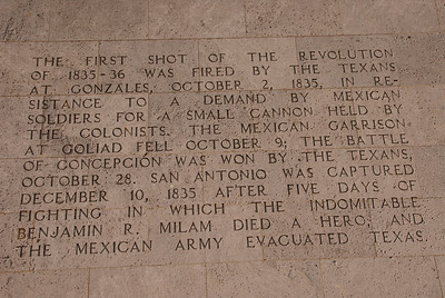 3) The First Shot of the Revolution at Gonzales