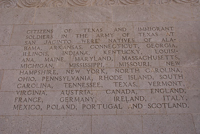 5) Citizens of Texas came from many states and countries composed the Texas Army