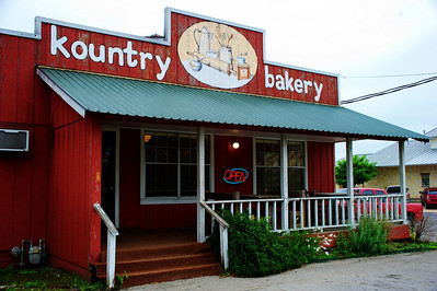 Schulenburg's Kountry Bakery....they did not have cinnamon raisin bread this morning.