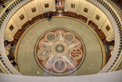 Floor of the Rotunda from Above