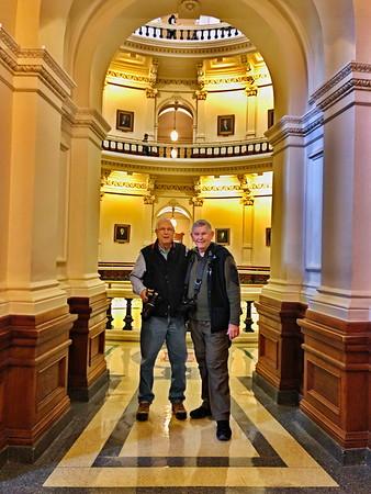 Texas Capitol Building Courthouse Photo Exhibit