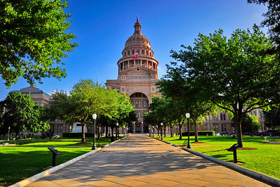 Texas Capitol Front View