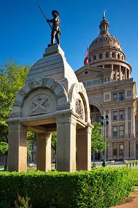 Texas Capitol  Heroes of the Alamo Memorial
