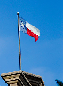 Texas Capitol Lone Star Flag