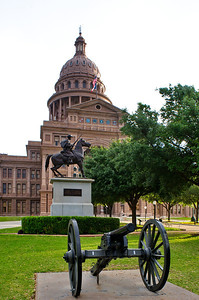 Texas Capitol Canon and Terry's Texas Rangers, Confederacy