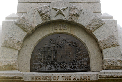 Texas Capitol Heroes of the Alamo Memorial