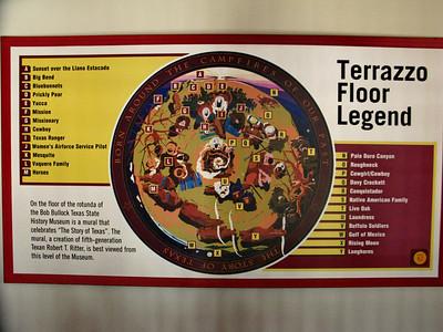 Terrazzo Floor Legend