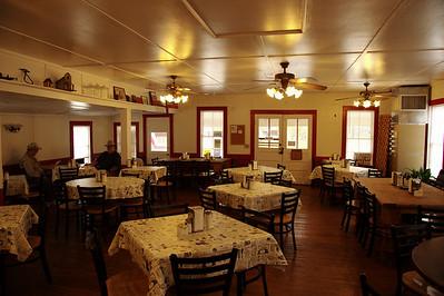 Burton Cafe, interior