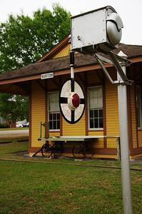 Wigwag at the Burton Railroad Depot