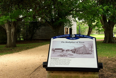 Birthplace of Texas, Independence Hall, Washington-on-the-Brazos State Park