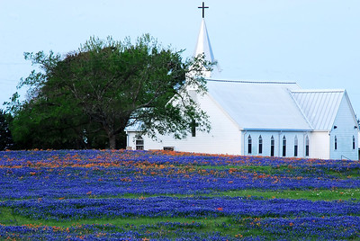 Salem Lutheran Church in Whitehall, Tx on SH362