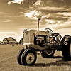 1955 Ford Tractor restored.