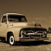 54 Ford pickup restored by Tom McKerrow & Dan Hamiltion