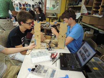 WR 2013 3D Printer Build Workshop