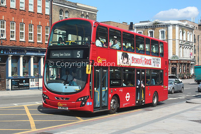 Route 5 - WVL485, LJ61NWU, London General (T/A Blue Triangle)
