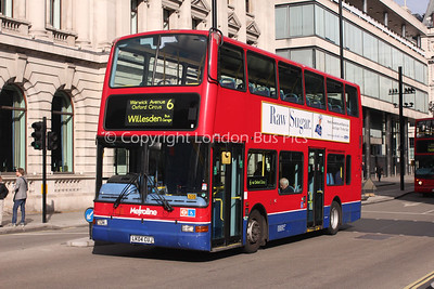 Route 6 - VP535, LK04CUJ, Metroline