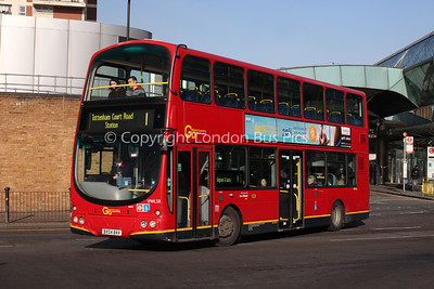 Route 1 - VWL38, BX04BAV, London General