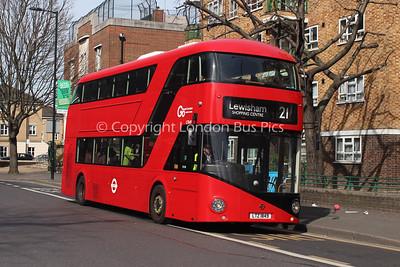 Route 21 - LT849, LTZ1849, London General (T/A London Central)