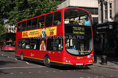 Route 1 - VWL28, LF52THX, London General