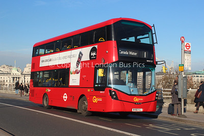 Route 1 - WHV157, BV66VLL, London General