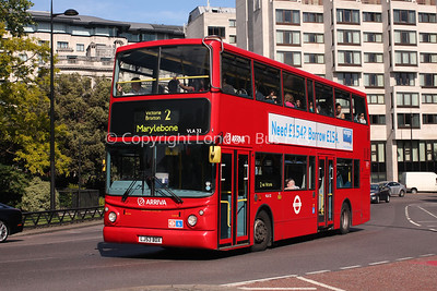 Route 2 - VLA32, LJ53BDX, Arriva London