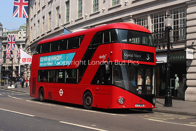 Route 3 - LT608, LTZ1608, Abellio London