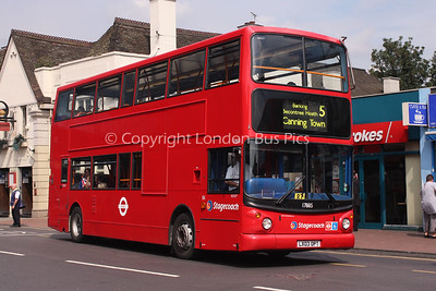 Route 5 - 17885, LX03OPT, Stagecoach London