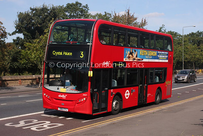 Route 3 - 2427, SN61CYJ, Abellio London