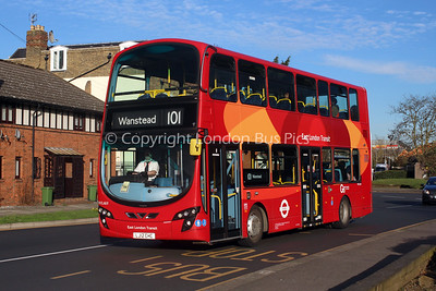 Route 101 - WVL469, LJ12CHC, Blue Triangle (T/A London General)