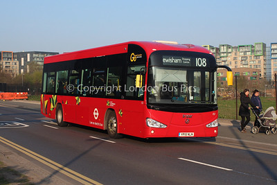 Route 108 - EI1, YP15NLN, London Central (T/A London General)
