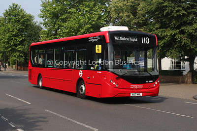 Route 110 - DLE30046, YX17NHL, London United