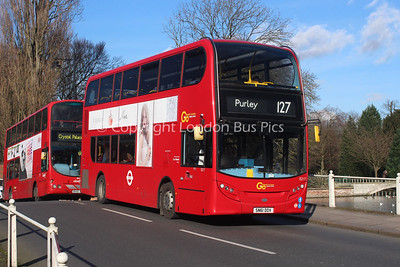 Route 127 - E217, SN61DDV, London General (T/A Metrobus)