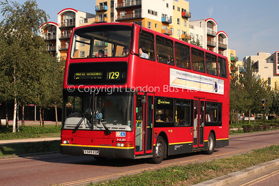 Route 129 - PVL189, X589EGK, London Central