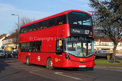 Route 127 - WHV70, BF65WJO, London General (T/A Metrobus)