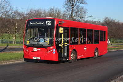 Route 130 - 191, YY13VKR, London General (T/A Metrobus)