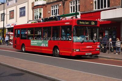 Route 126 - 3298, Y298TKJ, Arriva Kent Thameside
