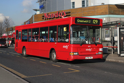 Route 129 - 8475, LF06YRL, Abellio London