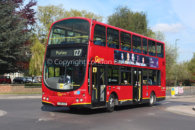 Route 127 - WVL240, LX06DZZ, London General (T/A Metrobus)