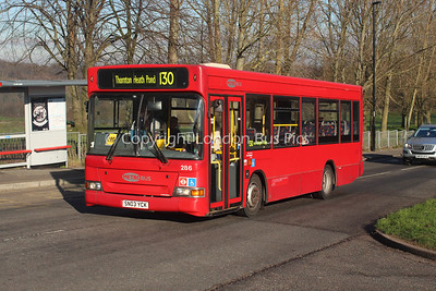 Route 130 - 286, SN03YCK,  Metrobus (T/A London General)
