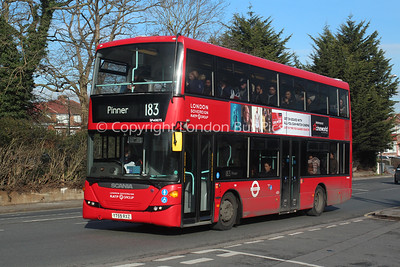 Route 183 - SP40075, YT59RXZ, London Sovereign