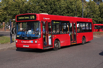 Route 178 - 34290, LX51FFW, Stagecoach London