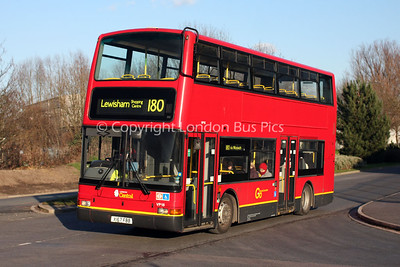 Route 180 - VP15, X167FBB, London Central