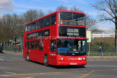 Route 178 - 17893, LX03ORF, Stagecoach London