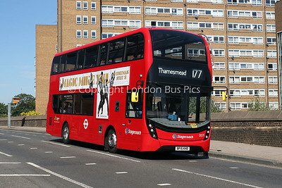Route 177 - 13071, BF15KHD, Stagecoach in London