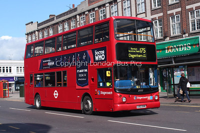 Route 175 - 17777, LX03BVN, Stagecoach London