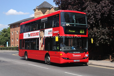 Route 183 - SP86, YT59RYN, Transdev London Sovereign