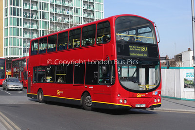 Route 180 - VWL20, LF52TGX, London General