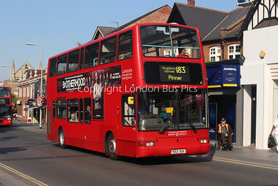 Route 183 - VLP22, PJ53OUV, London Sovereign